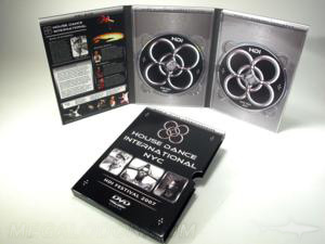 digipak dvd set 2 disc slipcase clear tray packaging