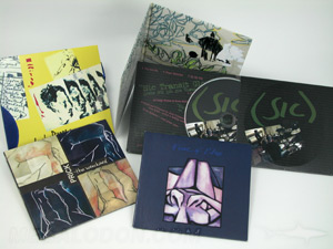 custom jacket packaging cd jacket set 2pp sleeves
