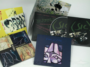 cd jacket set collection 2pp 4pp