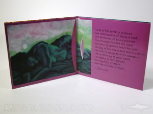 custom cd jacket packaging wide thumbhole pocket booklet
