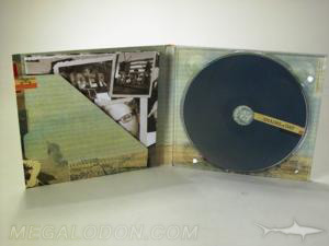cd digipak matte uncoated paper vintage look diagonal pocket