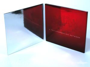 custom cd jacket red foiling paper reflective