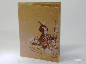 digipak recycled fiberboard paper brown tall tray packaging