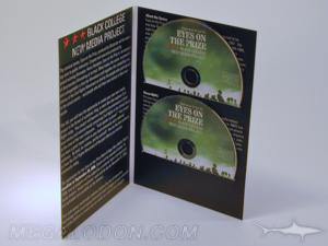custom jacket 2 disc set cd dvd packaging double disc tall jacket
