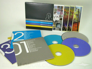 custom jacket multidisc  slipcase set 4 disc cd dvd