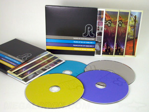 custom jacket multidisc packaging set 4 disc