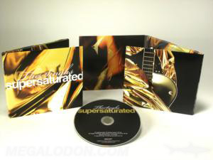 gold metallic ink cd jacket custom packaging 6pp