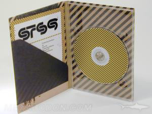 fiberboard digipak packaging tall dvd special paper stock