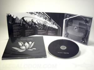 metallic ink printing spot uv gloss printed packaging special effects cd dvd disc