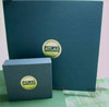 deluxe fabric box cd vinyl set linen  foiling